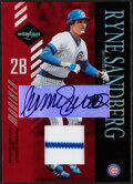 Baseball Cards:Singles (1970-Now), 2003 Leaf Limited Ryne Sandberg Autograph Jersey Relic Card #169 - Serial Numbered 2/5....
