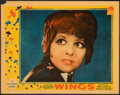 "Movie Posters:Academy Award Winners, Wings (Paramount, 1927). Fine/Very Fine. Linen Finish Lobby Card (11"" X 14""). Academy Award Winners.. ..."