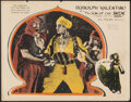 "Movie Posters:Adventure, The Son of the Sheik (United Artists, 1926). Fine+. Lobby Card (11"" X 14""). Adventure.. ..."