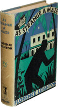 Books:Mystery & Detective Fiction, Florence Leighton. As Strange a Maze. London: Denis Archer, [n.d., 1935]. First edition....