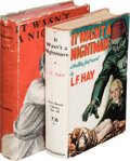 Books:Mystery & Detective Fiction, L. F. Hay. It Wasn't a Nightmare. London: Hutchinson & Co., [1937]. First edition of the author's first novel. Pre... (Total: 2 )