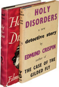 Books:Mystery & Detective Fiction, Edmund Crispin. Holy Disorders. London: Victor Gollancz, Ltd., 1945. First edition.... (Total: 2 Items)
