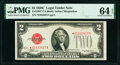 Small Size:Legal Tender Notes, Fr. 1504* $2 1928C Legal Tender Note. PMG Choice Uncirculated 64 EPQ.. ...