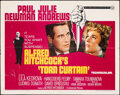 """Movie Posters:Hitchcock, Torn Curtain (Universal, 1966). Folded, Fine+. Half Sheet (22"""" X 28""""). Hitchcock.. ..."""
