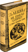 Books:Mystery & Detective Fiction, John Dickson Carr. The Murder of Sir Edmund Godfrey. New York: Harper and Brothers, Publishers, [1936]. First editio...