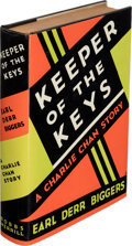 Books:Mystery & Detective Fiction, Earl Derr Biggers. Keeper of the Keys. A Charlie Chan Story. Indianapolis: The Bobbs-Merrill Company, [1932]. Fi...