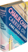 Books:Mystery & Detective Fiction, Earl Derr Biggers. Charlie Chan Carries On. Indianapolis: The Bobbs-Merrill Company, [1930]. First edition. Presen...