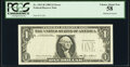 Error Notes:Missing Third Printing, Missing Third Printing Error Fr. 1913-B $1 1985 Federal Reserve Note. PCGS Choice About New 58.. ...