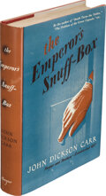 Books:Mystery & Detective Fiction, John Dickson Carr. The Emperor's Snuff-Box. New York: Harper & Brothers Publishers, [1942]. First edition....