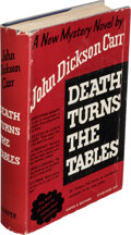 Books:Mystery & Detective Fiction, John Dickson Carr. Death Turns the Tables. New York: Harper & Brothers Publishers, [1941]. First edition of this ...