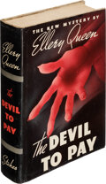 Books:Mystery & Detective Fiction, Ellery Queen. The Devil to Pay. New York: Frederick A. Stokes, 1938. First edition....