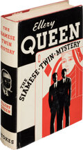 Books:Mystery & Detective Fiction, Ellery Queen. The Siamese Twin Mystery. New York: Frederick A. Stokes, 1933. First edition....
