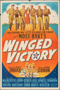 "Movie Posters:War, Winged Victory (20th Century Fox, 1944). Folded, Fine/Very Fine. One Sheet (27"" X 41"") Style A. War.. ..."