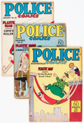 Golden Age (1938-1955):Superhero, Police Comics Group of 11 (Quality, 1946-48) Condition: Average VG.... (Total: 11 Comic Books)