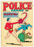 Golden Age (1938-1955):Science Fiction, Police Comics #41 (Quality, 1945) Condition: VF....