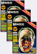 Magazines:Horror, Famous Monsters of Filmland Yearbook 1969 and Others Group of 5 (Various Publishers, 1962-69).... (Total: 5 Items)
