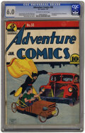 Golden Age (1938-1955):Superhero, Adventure Comics #58 (DC, 1941) CGC FN 6.0 Off-white to white pages.