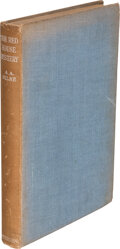 Books:Signed Editions, A. A. Milne. The Red House Mystery. London: Methuen & Co., [1943]. Twentieth edition. Inscribed and signed by th...