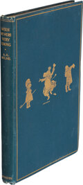 Books:Signed Editions, A. A. Milne. When We Were Very Young. London: Methuen & Co., [1924]. Second edition. Inscribed and signed by A. ...