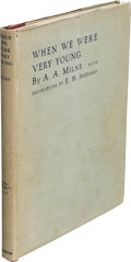 Books:Signed Editions, A. A. Milne. When We Were Very Young. London: Methuen & Co., [1924]. First edition, number 53 of 100 of the large pa... (Total: 4 )