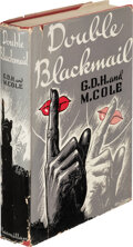 Books:Mystery & Detective Fiction, G. D. H. and Margaret Cole. Double Blackmail. New York: Macmillan Company, 1939. First American edition....