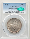 Commemorative Silver, 1925 50C Stone Mountain MS67 PCGS. CAC. PCGS Population: (309/5). NGC Census: (182/15). MS67. Mintage 1,314,709. ...