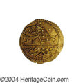 Egypt: , Egypt: Selim III gold 1/2 Zeri Mahbub 1203/21 = 1221AH (1807),KM140, UNC, fully lustrous and only slightly crude. Very bolddetail...