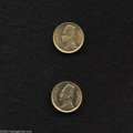 Egypt: , Egypt: King Fuad gold 20 Piastres, KM351, 1929, choice AU-UNC and1930, BU. Two nice examples of this little gold type.. Fromthe... (Total: 2 coins Item)