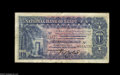 Egypt: , Egypt: Pound 14-3-1920 S/94, P12a, Rowlatt. Nearly Fine, smallcenter hole and minor arabic graffiti on the back.. From theLake ...