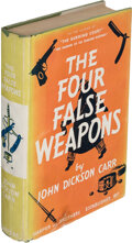 Books:Mystery & Detective Fiction, John Dickson Carr. The Four False Weapons. Being the Return of Bencolin.New York and London: Harper Brothers, 19...