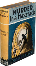 Books:Mystery & Detective Fiction, Dorothy Aldis. Murder in a Haystack. New York: Farrar and Rinehart, [1931]. First edition. ...