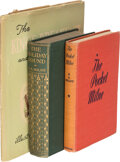 Books:Signed Editions, A. A. Milne. Three signed books, two inscribed. [New York and London: 1912-1947].... (Total: 3 )