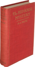 Books:Mystery & Detective Fiction, A. A. Milne. The Red House Mystery. New York: E. P. Dutton & Company, [1922]. First American edition....