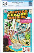 Silver Age (1956-1969):Superhero, Justice League of America #26 (DC, 1964) CGC GD 2.0 Off-white pages....