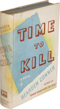 Books:Mystery & Detective Fiction, Rearden Conner. Time to Kill. New York: Alfred A. Knopf, 1936. First American edition, stated....