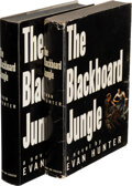 Books:Mystery & Detective Fiction, Evan Hunter. Two copies of The Blackboard Jungle. New York: Simon and Schuster, 1954. First edition and an advan... (Total: 2 Items)
