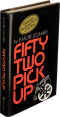 Books:Mystery & Detective Fiction, Elmore Leonard. Fifty-Two Pickup. New York: Delacorte Press, 1974. First edition, first printing. Signed by the au...