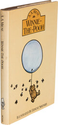 Books:Signed Editions, [Christopher Robin Milne] A. A. Milne. Winnie-the-Pooh. London: Methuen's Children's Books, [1976]. Reprint. Inscr...
