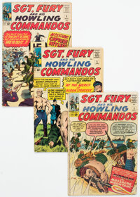 Sgt. Fury and His Howling Commandos Group of 19 (Marvel, 1963-69) Condition: Average GD/VG.... (Total: 19 Comic Books)