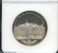German States:Bremen, German States: Bremen. Medallic Taler 1864-B, KM-M1, MS64 Prooflike NGC, marking the opening of the new business exchange....