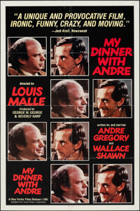 "My Dinner with Andre & Other Lot (New Yorker Films, 1981). Folded, Overall: Fine/Fine. One Sheets (2) (27"" X 41..."