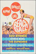 """Movie Posters:Rock and Roll, Beach Ball (Paramount, 1965). Folded, Fine/Very Fine. One Sheet (27"""" X 41""""). Rock and Roll.. ..."""