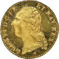 France, France: Louis XVI gold Louis d'Or 1786-W MS67 Prooflike NGC,...