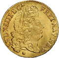 France, France: Louis XIV gold Louis d'Or 1690-N MS66+ NGC...