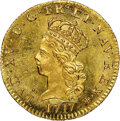 France, France: Louis XV gold 1/2 Louis d'Or 1717-A MS65+ NGC, ...