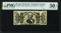 Fractional Currency:Third Issue, Fr. 1338 50¢ Third Issue Spinner PMG About Uncirculated 50 EPQ.. ...