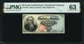 Fr. 1376 50¢ Fourth Issue Stanton PMG Choice Uncirculated 63