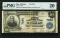 National Bank Notes:Alabama, Opp, AL - $10 1902 Plain Back Fr. 625 The First National Bank Ch. # 7985 PMG Very Fine 20.. ...