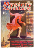 Pulps:Horror, Mystery Adventures Magazine - March 1937 (Fiction Magazines) Condition: VG+....