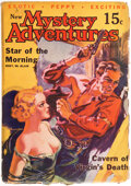 Pulps:Horror, New Mystery Adventures - October 1935 (Pierre Publications) Condition: GD/VG....